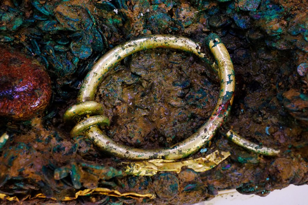 The Golden torc is larger than any other example ever found on Jersey © Jersey Heritage
