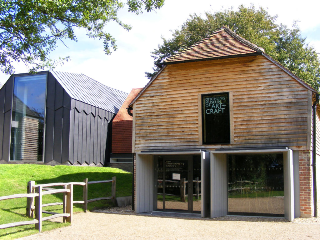 Photograph of exterior of Ditchling Museum of Art + Craft