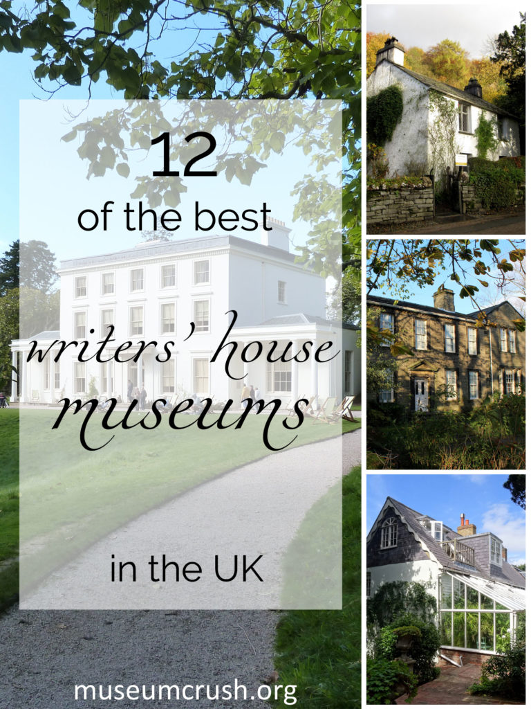 Museum Crush's selection of the best writers' house museums in the UK