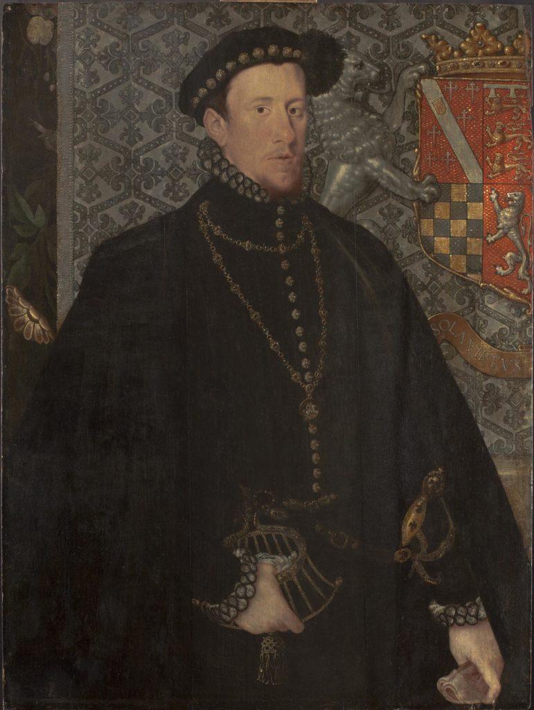 a portrat of an Elizabethan gentleman