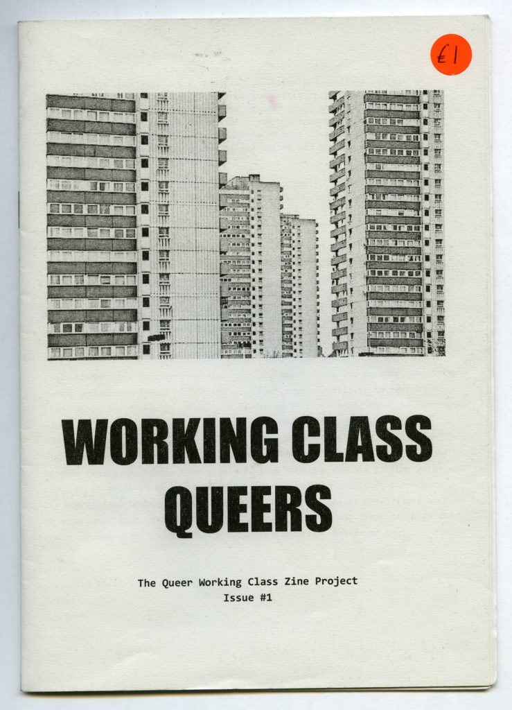 a fanzine with some tower blocks on its cover