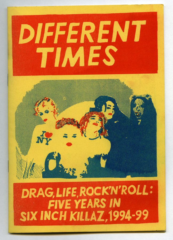 a zine cover with a girl band on the cover