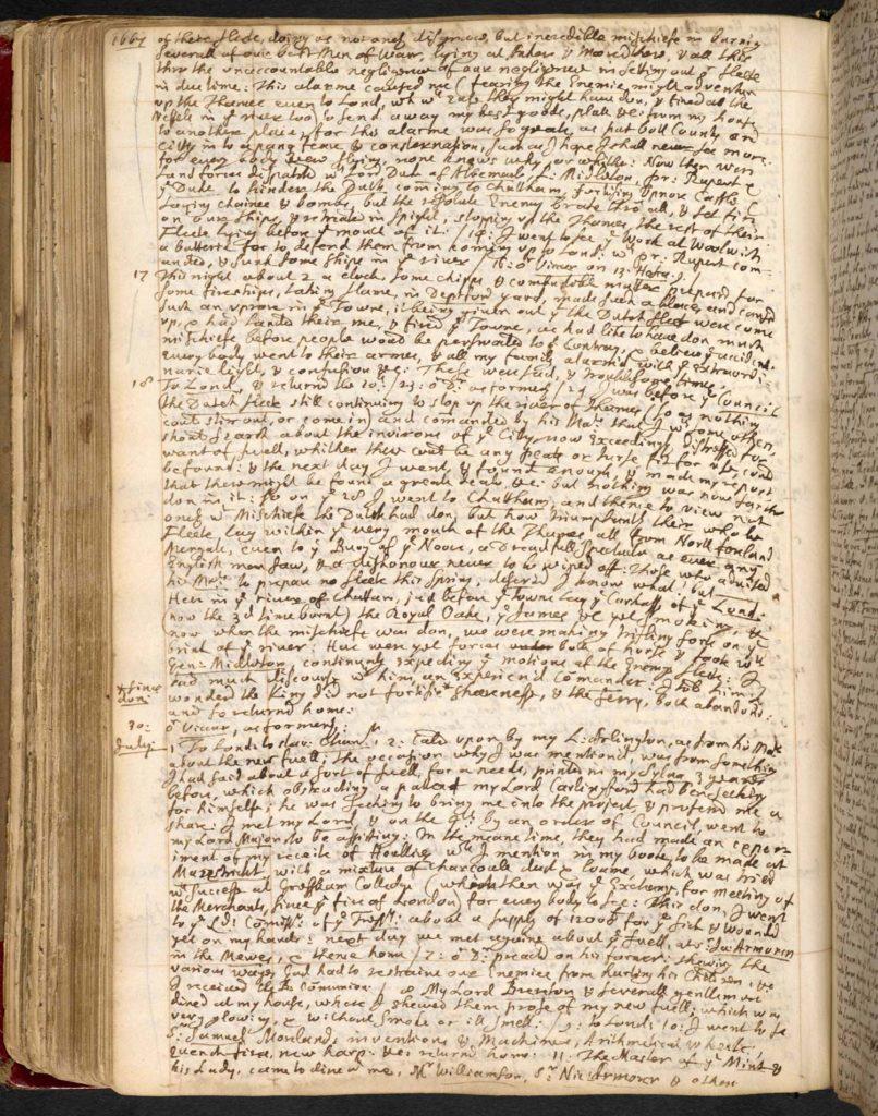 a photo of a handwritten diary