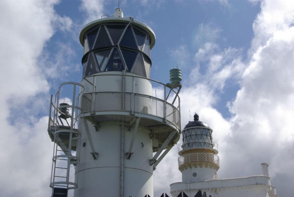 photograph of lighthouses at Kinnaird Head
