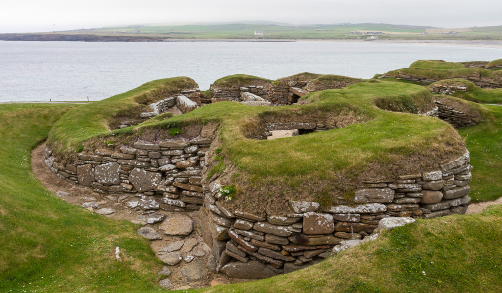 photograph of prehistoric settlement