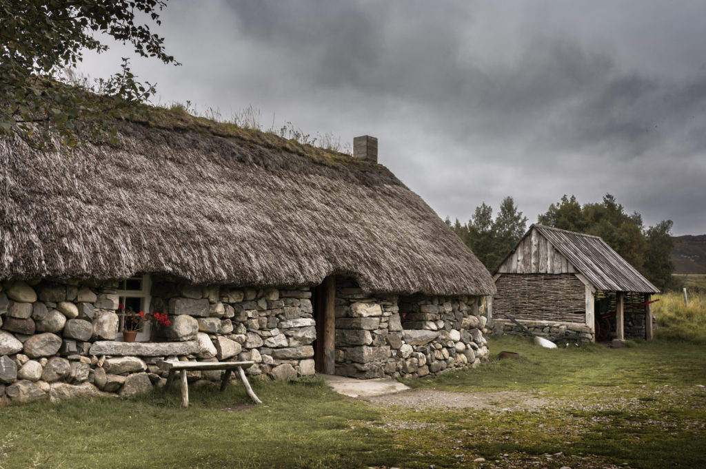 photograph of historic highlands buildings