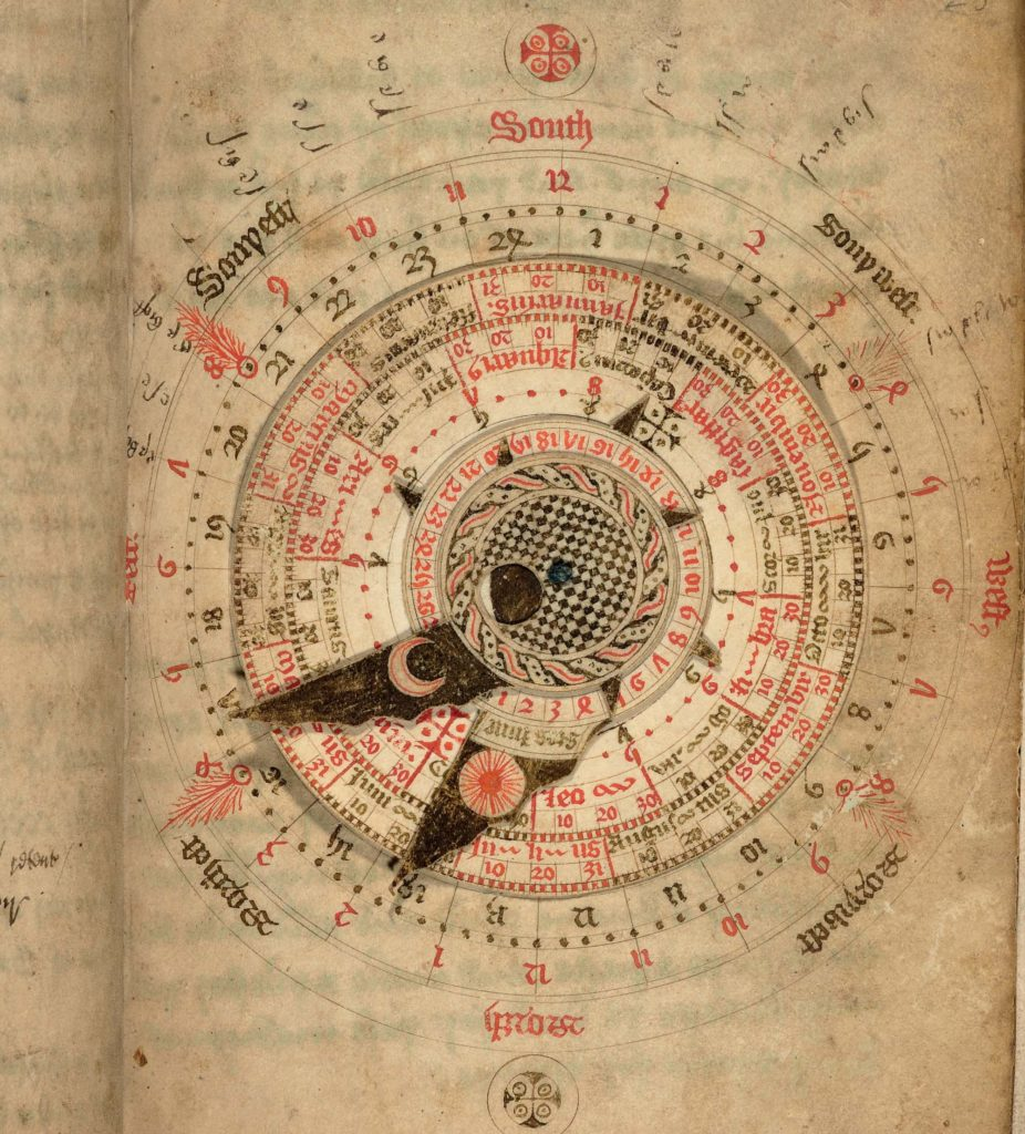 a photo of an astrological chart