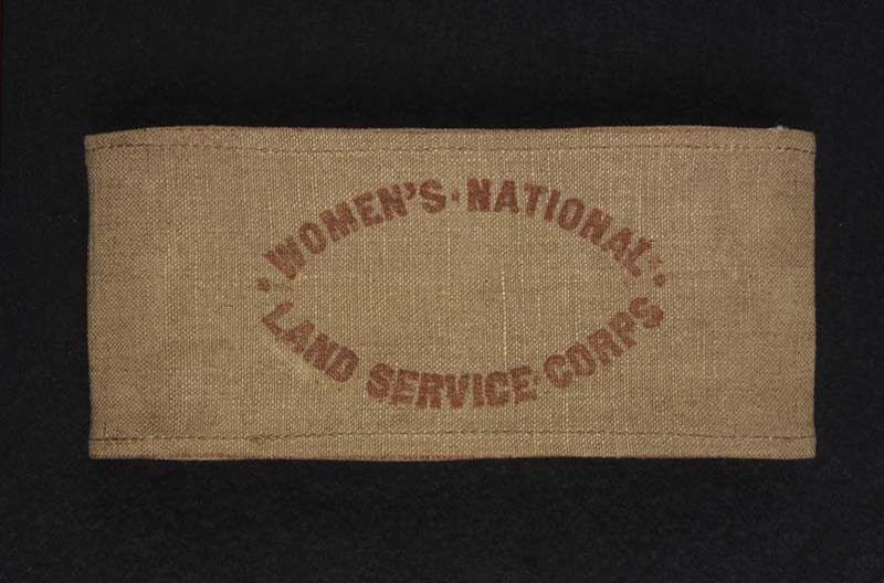 a photo of a brown khaki armband