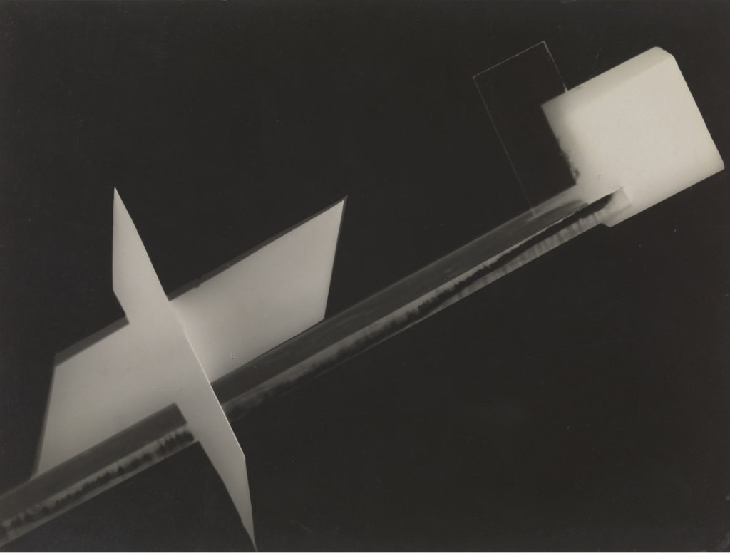 abstract photogram