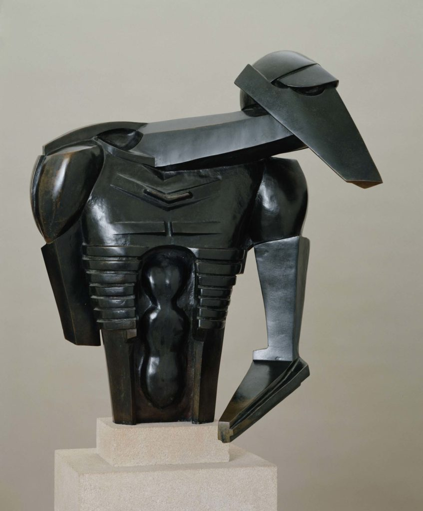 a photo of an abstract sculpture