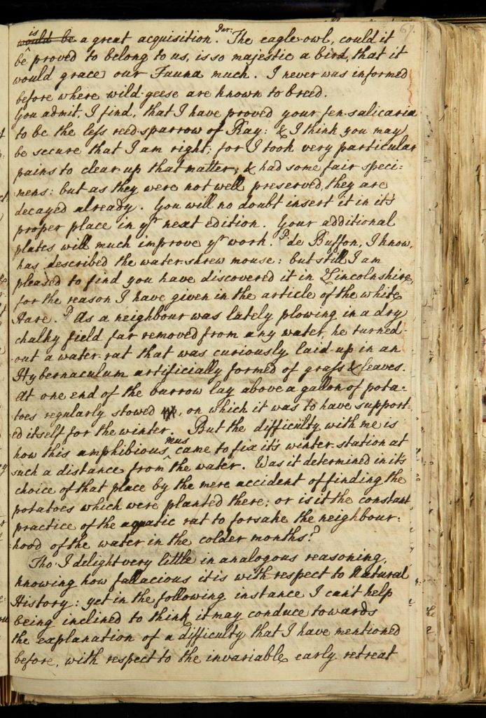 a photo of a page from a book handwritten in ink