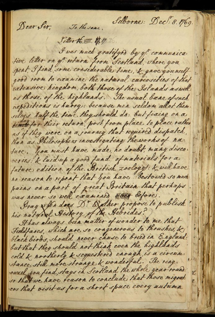 a photo of a handwritten page of a book