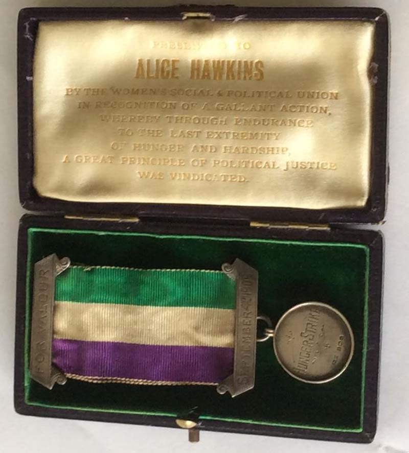 a photo of a medal in a box