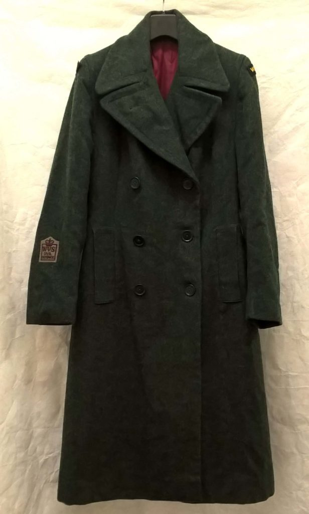 a photo of a grey greatcoat