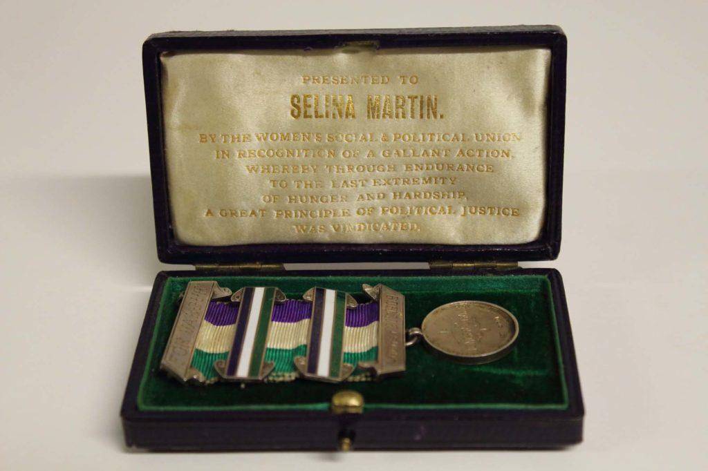 a photo of a medal in its presentation box
