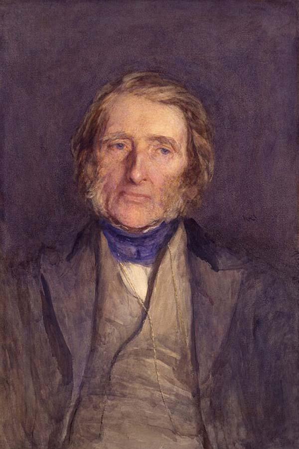 a portrait of a middle aged man