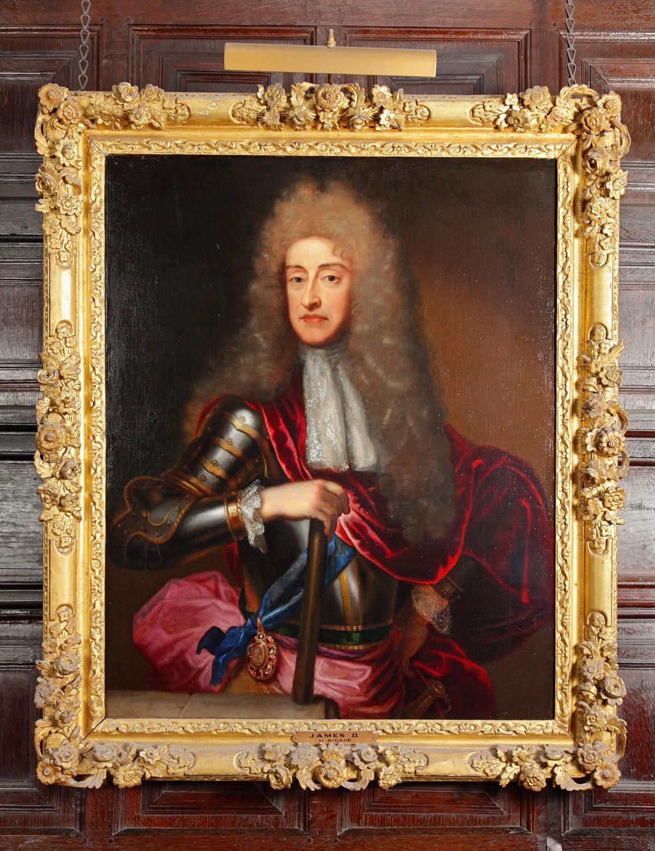 painted portrait of James II