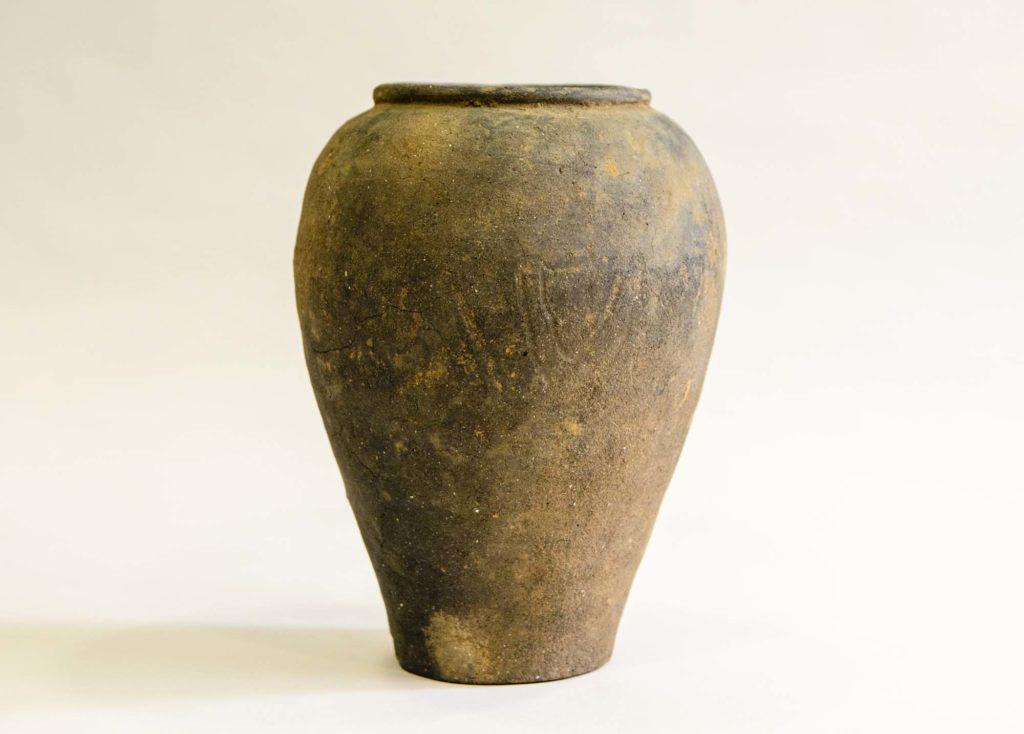 a photo of a ceramic urn