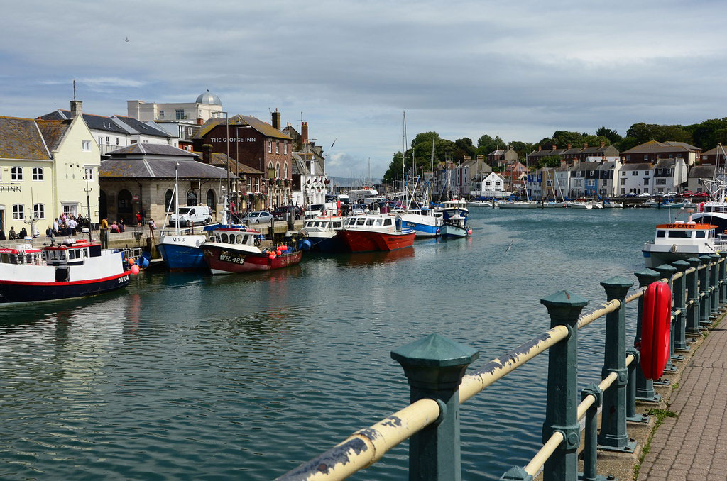 The harbour at Weymouth