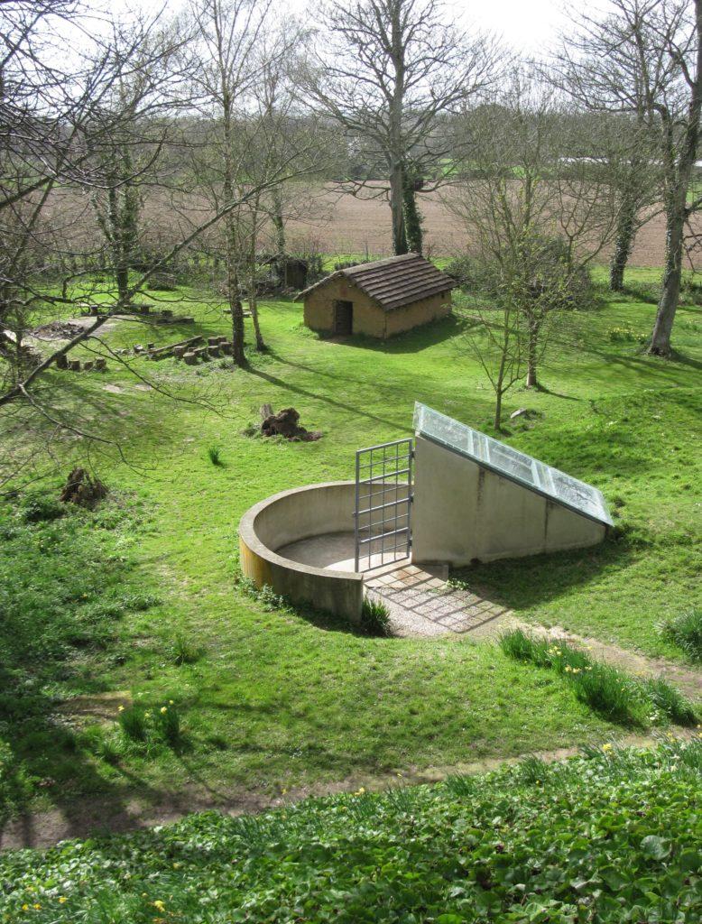 The bunker at La Hougue Bie