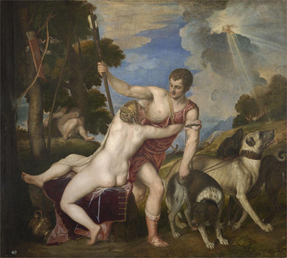 Titian's Venus and Adonis