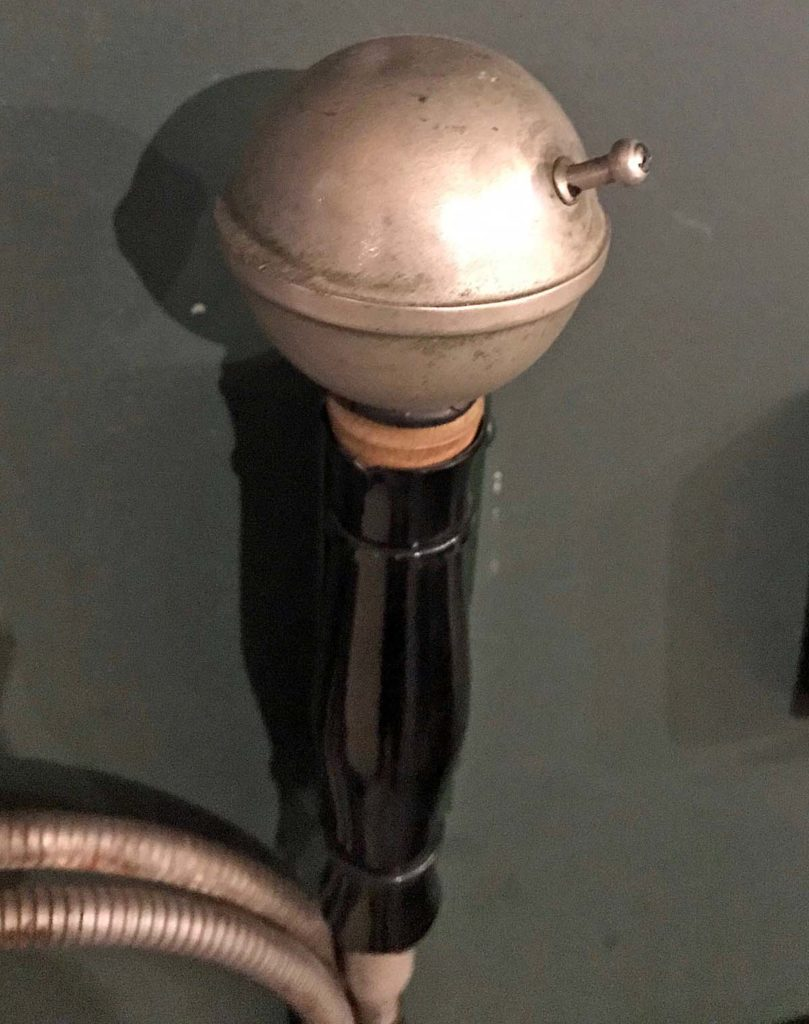 a photo of a microphone-shaped device
