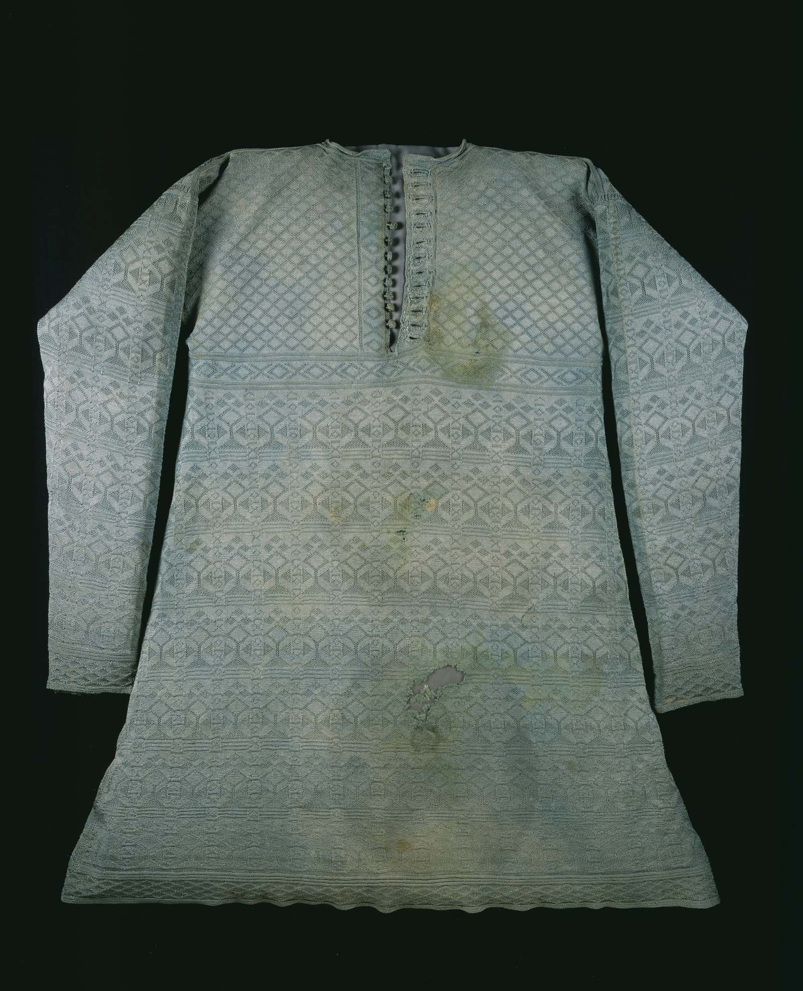 a photo of stained vest with long sleeves