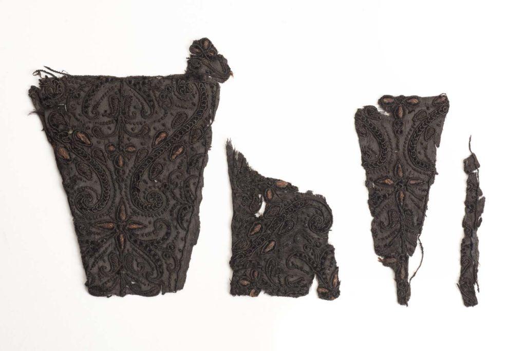 ragments of the cloak of Charles I