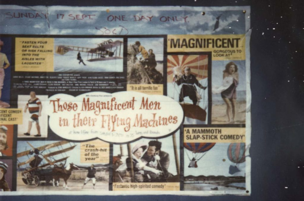a photo of part of a film poster