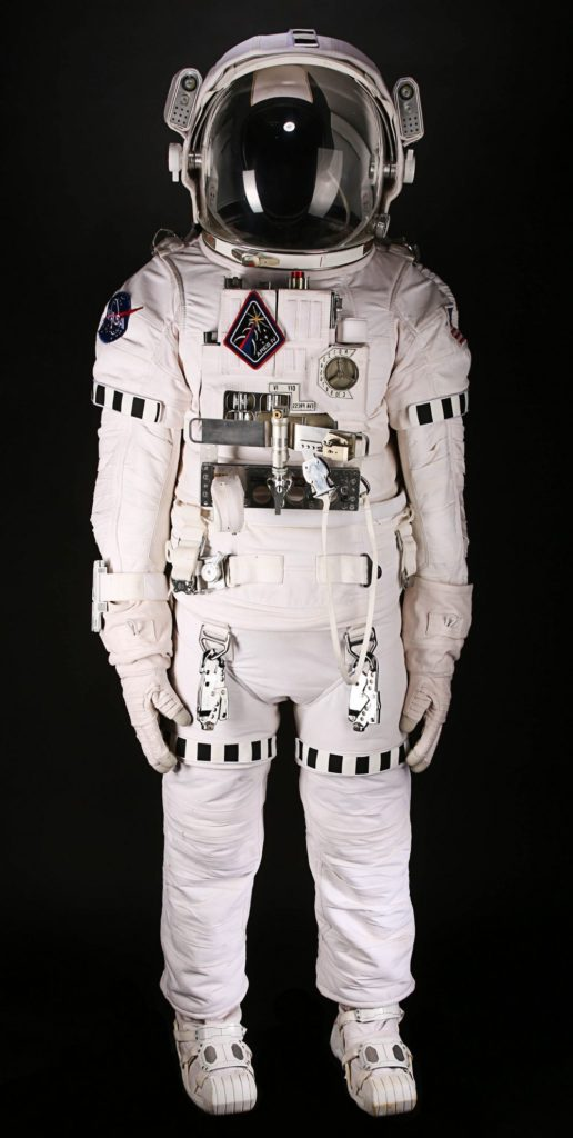 a photo of an astronaut's space walking suit
