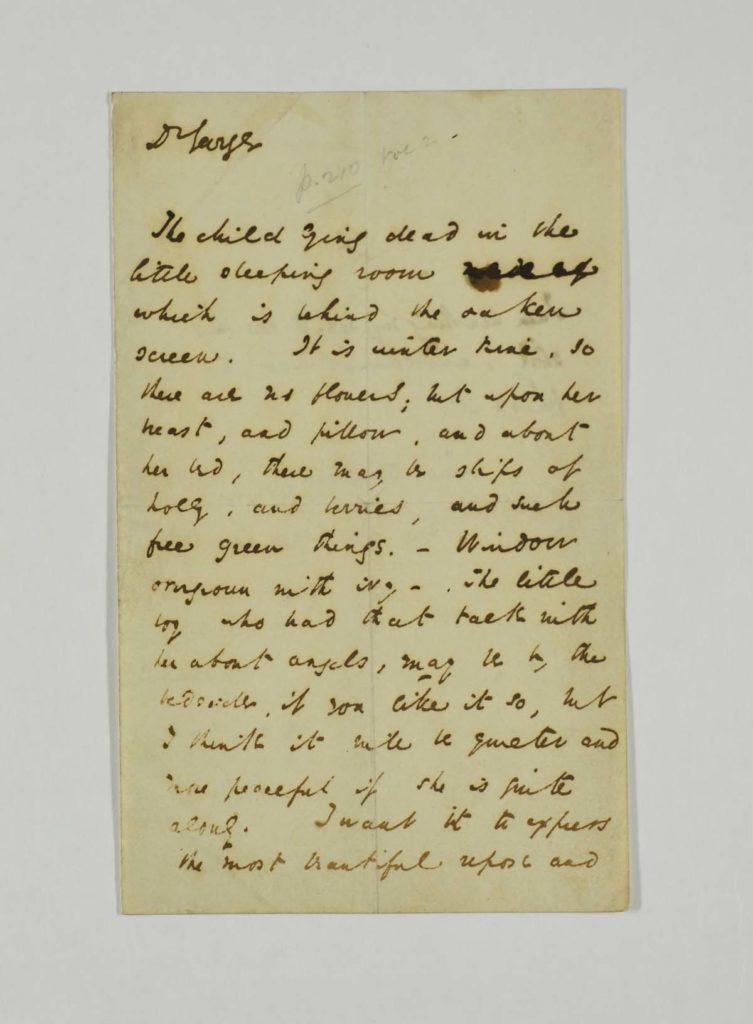 a photo of a handwritten letter