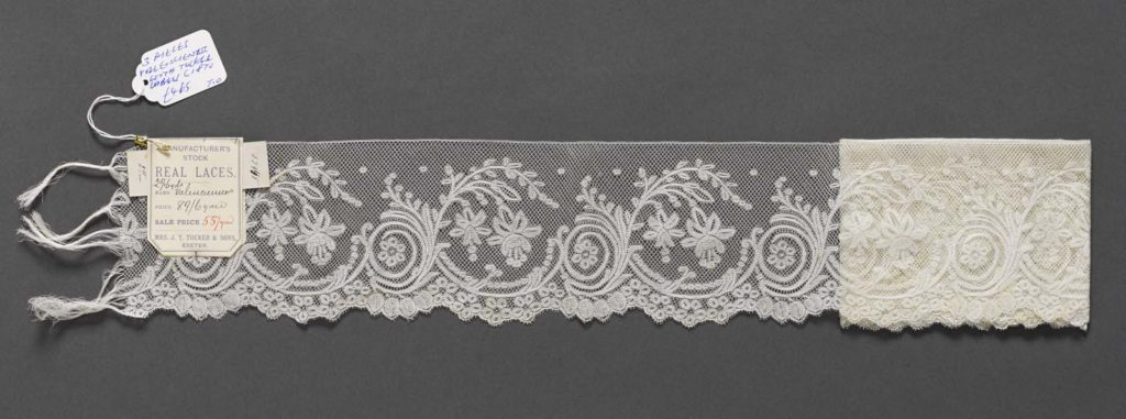 a photo of a piece of lace
