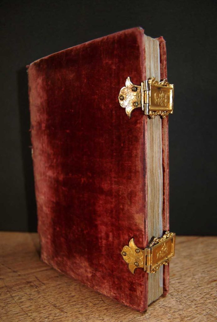 a bound and locked book