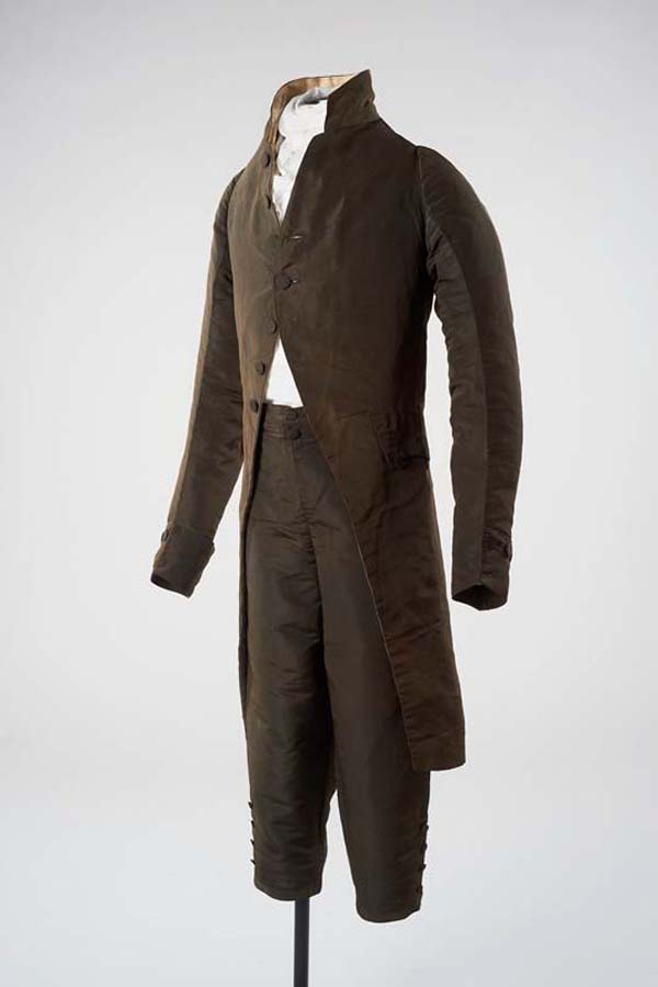 a men's frock coat and trousers