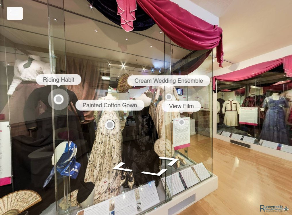 Chertsey Museum's virtual tour of Folded & Moulded exhibition