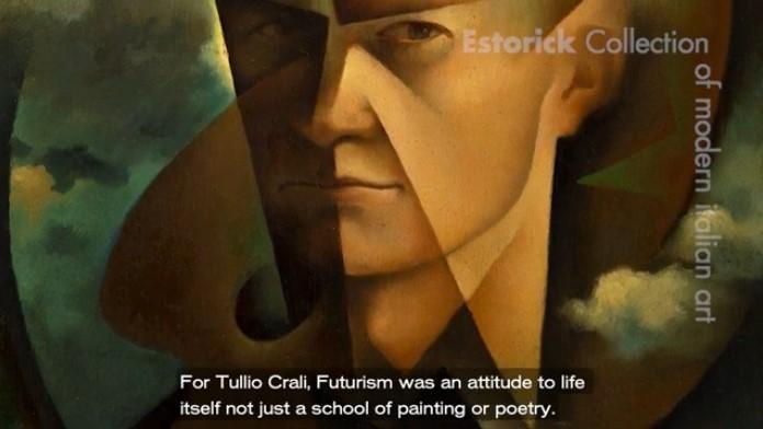 still from Estorick Collection's Tullio Crali video