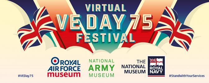Virtual VE Day 75 Festival logo