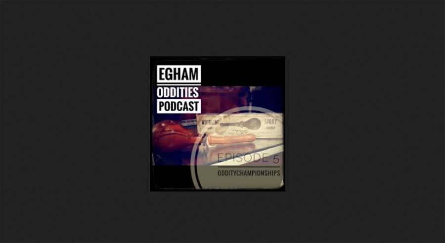 eggham oddities podcast screenshot