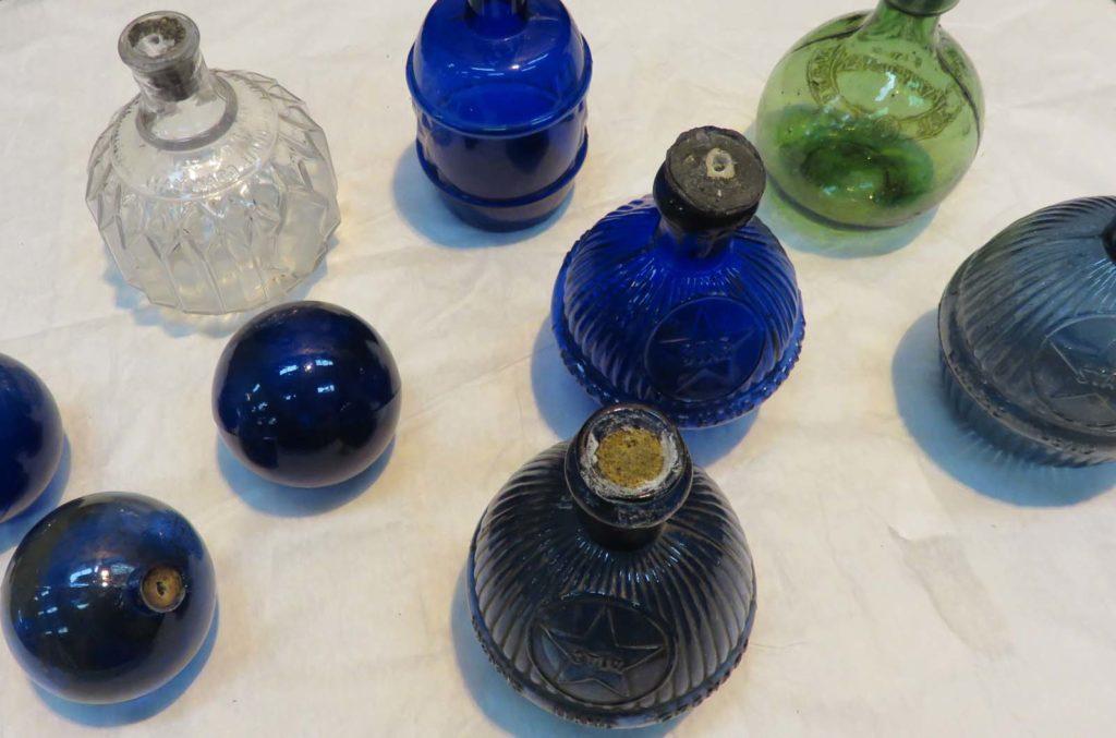 photo of an assortment of glass bottles