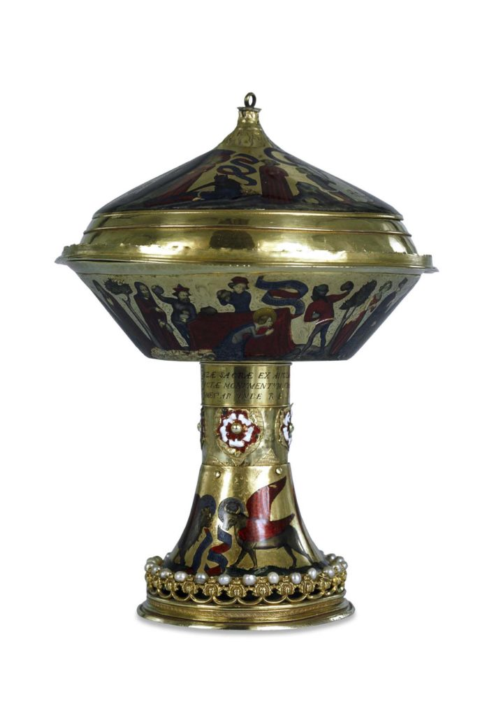 photo of a decorated gold cup