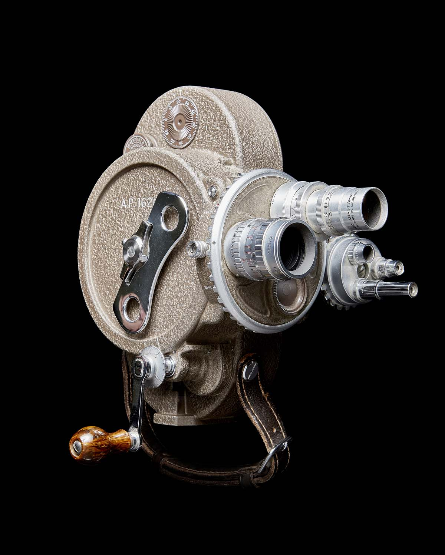 photo of a cine camera