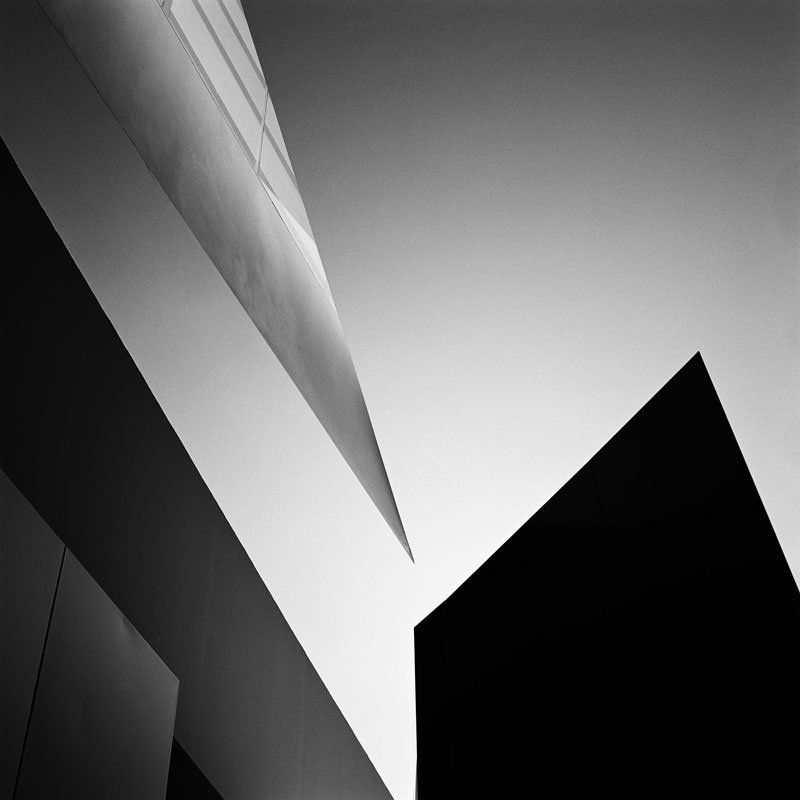 abstract photograph of building
