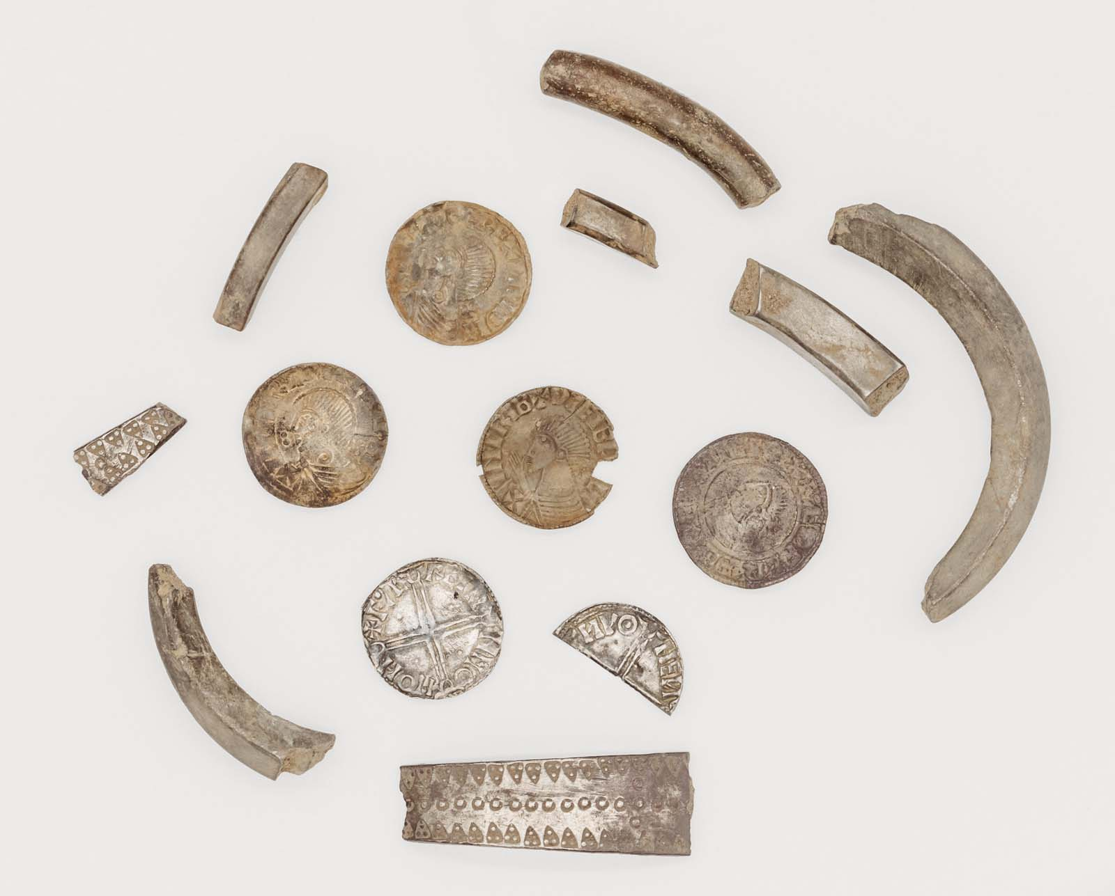 a range of metals and coins